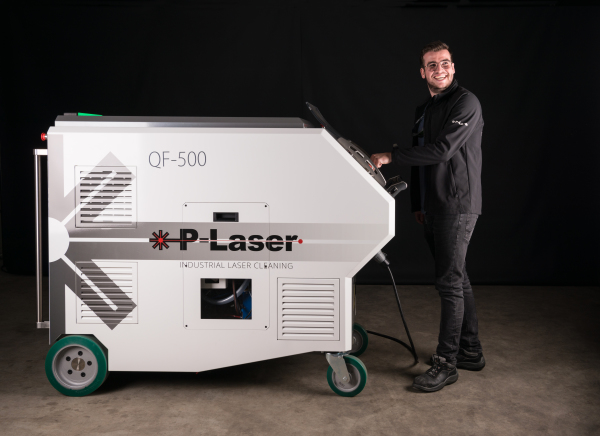 P-Laser High Power laser cleaning system